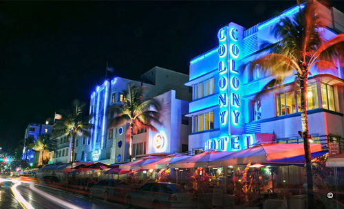 luxurious destinations miami colony hotel south beach taking to the open road peggy tee-001
