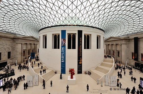 3 days in london on the cheap british museum wikimedia takingtotheopenroad peggytee