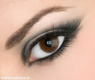 عکس چشم آرایش شده