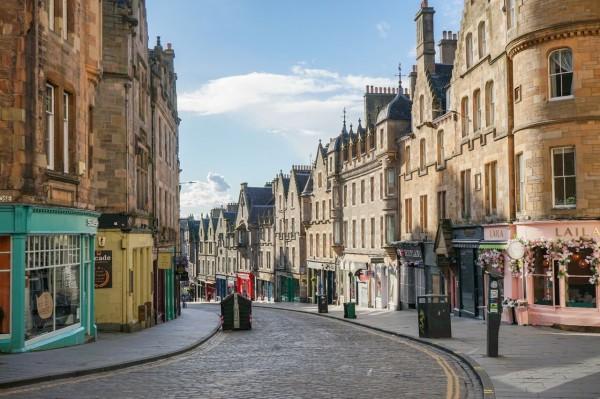 「中世のヨーロッパ感」溢れる街並みを求めて… 〜 エディンバラ旧市街