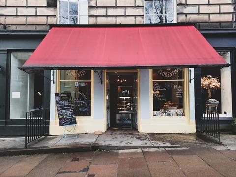 雨が似合う大人の街のフレンチカフェ 〜 Patisserie Florentin