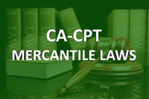 Ca Cpt Mercantile laws online classes