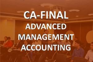 Ca final advanced management accounting classes