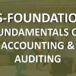 cs foundation fundamental of accounting and auditing online classes