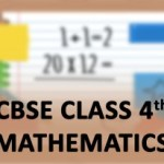 CBSE Class 4th Mathematics