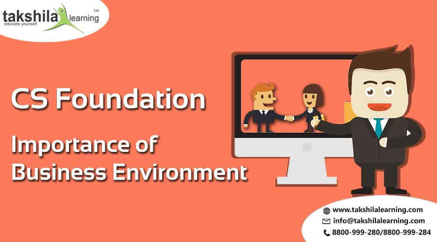 CS Foundation -Importance of Business Environment online classes & Law