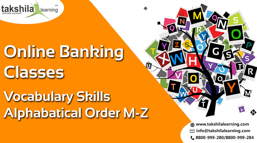 Vocabulary Skills For Alphabetical Order From M-Z