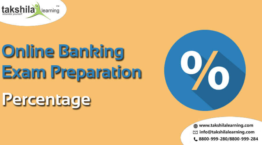 Percentage Solutions for IBPS PO and Clerk & Other Bank Exams