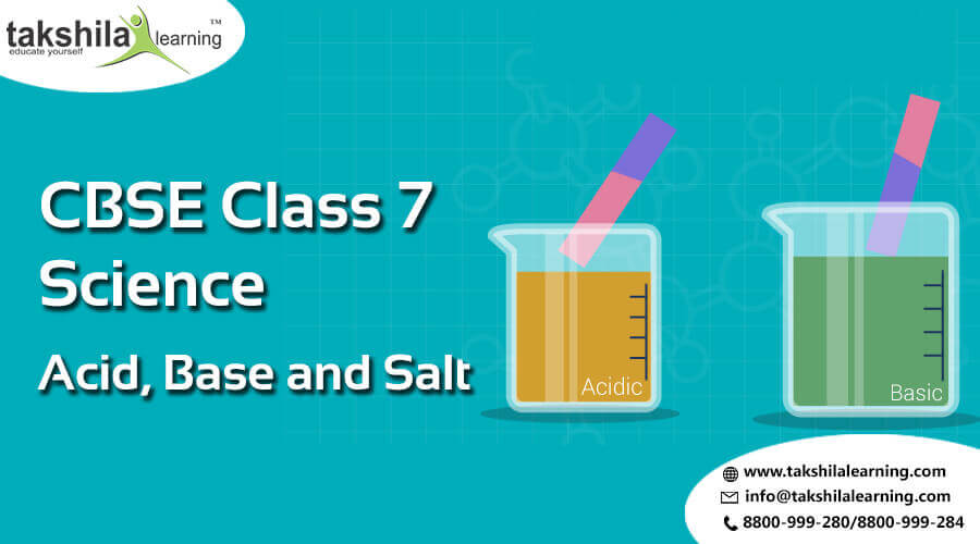 CBSE & NCERT Solutions for Class 7 Science Acid
