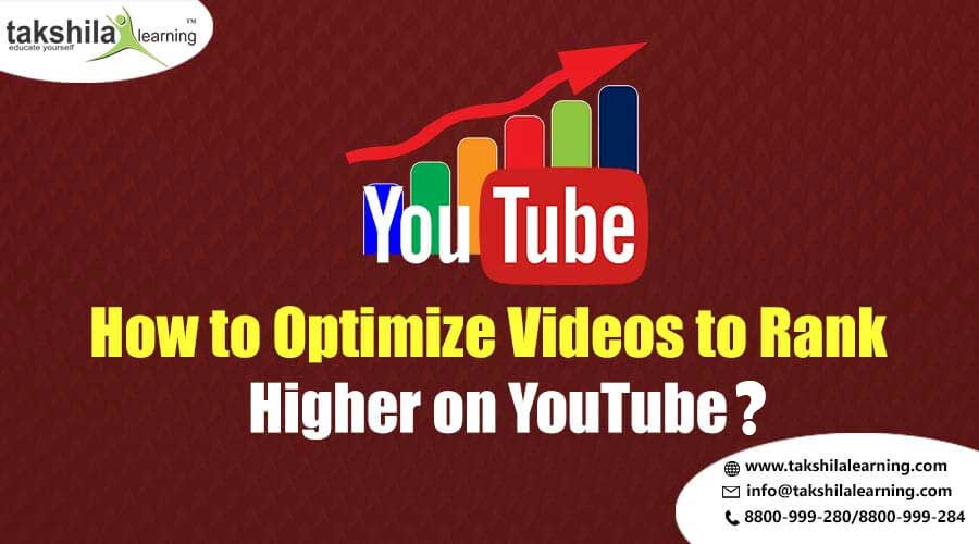 How to Optimize Videos to Rank Higher on YouTube? Youtube SEO