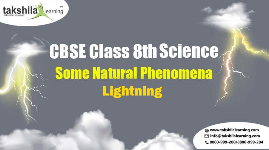 NCERT Solutions Class 8 Science - Some Natural Phenomena - Lightning, 8th class science, NCERT Solutions Class 8, class 8 science