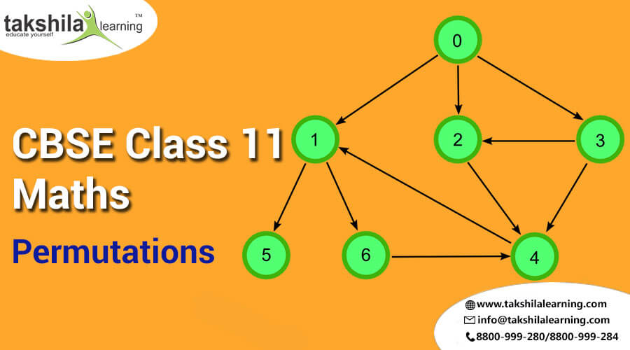 CBSE & NCERT Solutions For Class 11 Maths Permutation