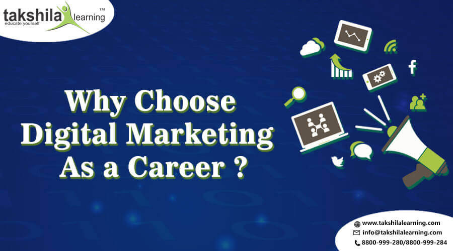 Why Choose Digital Marketing as a Career Advance Digital Marketing Course