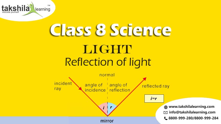 Properties of Light and Reflection of light Class 8 Science