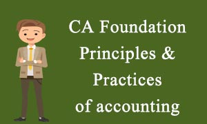 CA Foundation Principles and Practices of Accounting video lectures
