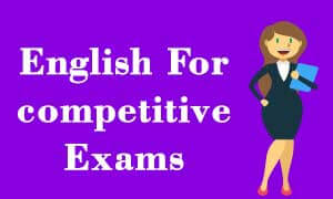 Get best Englishvideo lectures For Competitive Exams (IBPS , SBI , RRB)