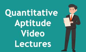 Quantitative aptitude video lectures for IBPS SBI PO & CLERK , RRB SSC