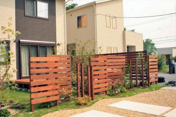 木製フェンス(イタウバ)