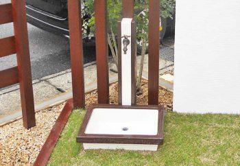 立水栓・ガーデンパン 施工例