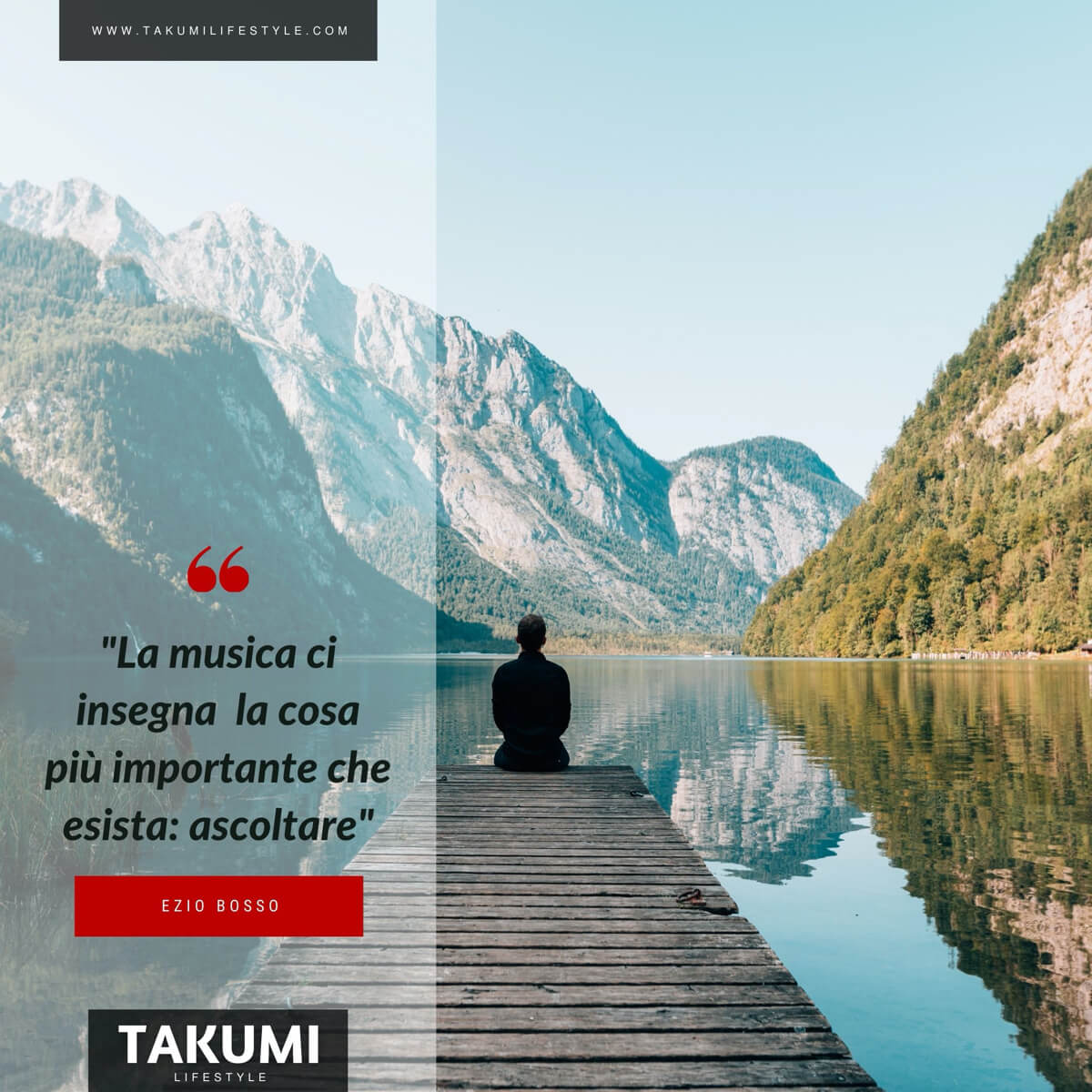 TAKUMI lifestyle -quote#17 Ezio Bosso