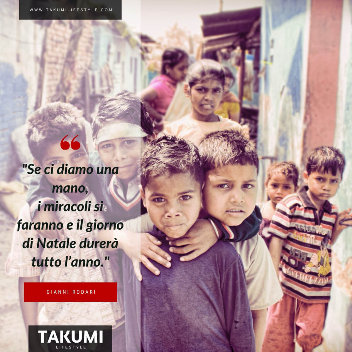 TAKUMI lifestyle - quote#18 Gianni Rodari