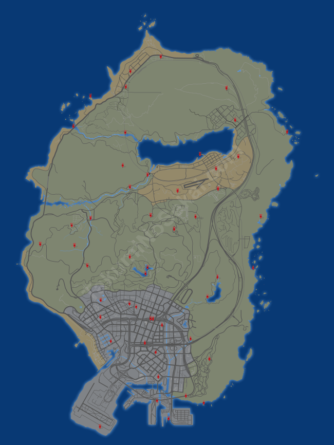 map gta 5 ovni parts