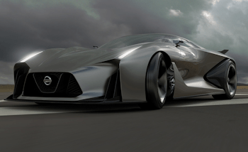 NISSAN CONCEPT 2020 Vision Gran Turismo gameplay