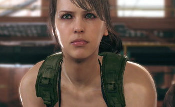 metal gear solid v : the phantom pain quiet