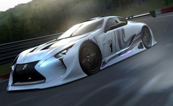 Gran Turismo 6 : Lexus LF-LC GT Vision Gran Turismo disponible