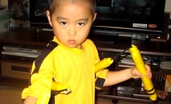 Japon : A 5 ans, Ryuji Imai imite Bruce Lee à la perfection