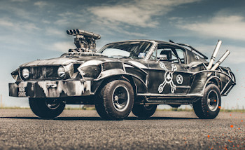 Mad Max: Tentez de gagner la Mustang Magnum Opus