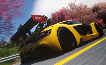 La Renault Sport R.S.0.1 et la Ferrari 488 GTB dans DriveClub