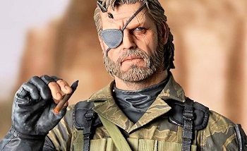 Le fabricant japonais Gecco dévoile une superbe figurine de Venom Snake