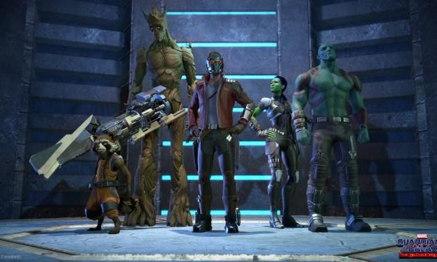 Un trailer de lancement de Marvel's Guardians of the Galaxy: The Telltale Series