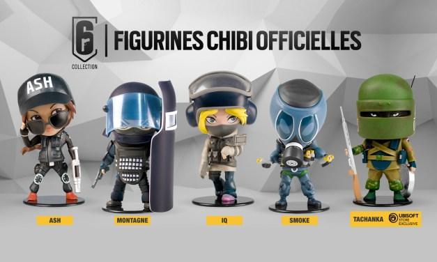 Rainbow Six : Ubisoft dévoile les figurines SIX Chibi