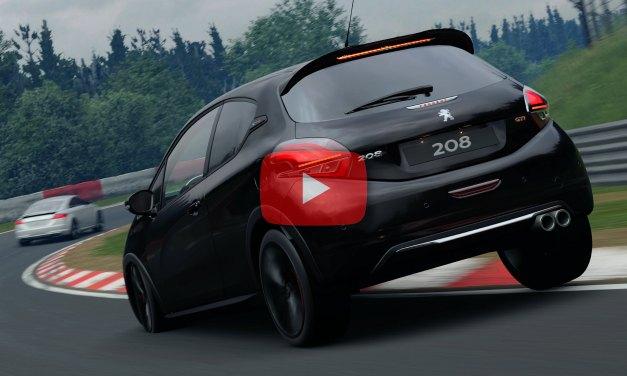 Gran Turismo Sport : Un tour du Nürburgring Nordschleife en Peugeot 208 GTI