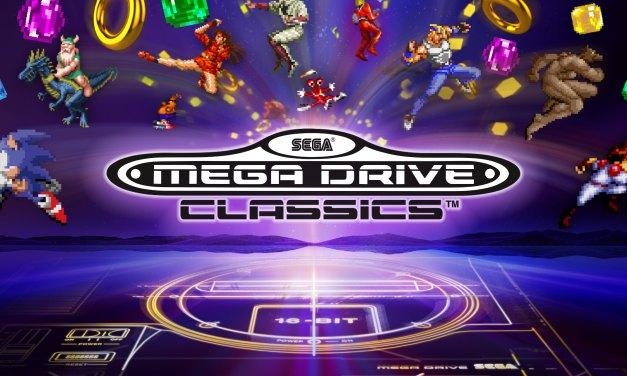 Un trailer de lancement musical pour Sega Mega Drive Classics
