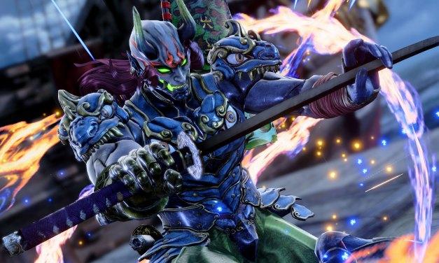 Yoshimitsu sera de la partie dans Soulcalibur VI