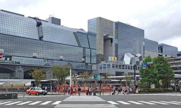 Un petit tour dans la gare de Kyoto avec GlimpseJapan