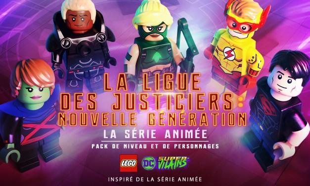 Lego DC Super-Vilains : Le DLC La Ligue des Justiciers Nouvelle Génération est disponible