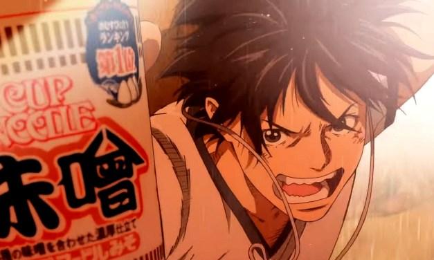 Une nouvelle publicité Cup Noodle avec One Piece