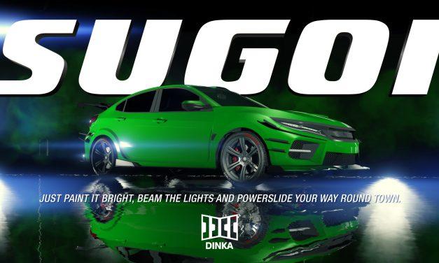 La Dinka Sugoi est désormais disponible dans GTA Online