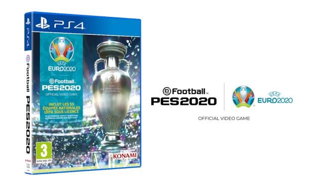 eFootball PES 2020 : Une date de sortie la mise à jour UEFA EURO 2020