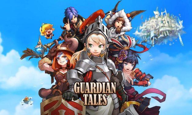 Un nouveau chapitre pour l'histoire de Guardian Tales et un nouveau héros