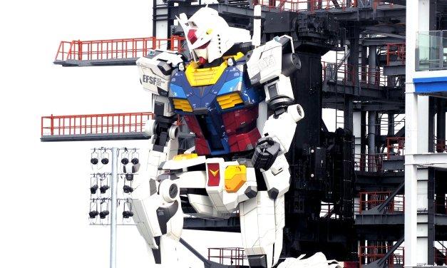 Japon: Le Gundam a fait ses premiers pas à Yokohama