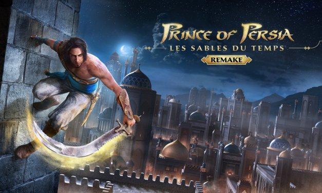 Ubisoft annonce le remake de Prince of Persia : Les Sables du Temps