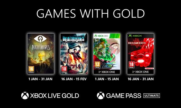 Découvrez le programme Games With Gold de Janvier