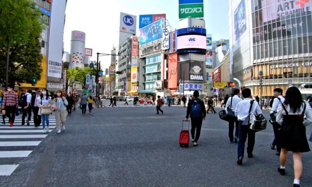 Japon: Une nouvelle balade dans l'arrondissement de Shibuya à Tokyo