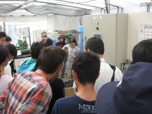 養液混合装置14tの養液をコンピュ-タで自動管理