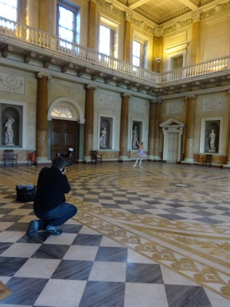 Ballet photo shoot at Wentworth Woodhouse